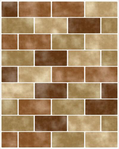 Piastrelle Adesivo Piastrelle Immagine Immagine Immagine Piastrelle Piastrelle Adesivo Imitazione Mosaico Marronee 062a87