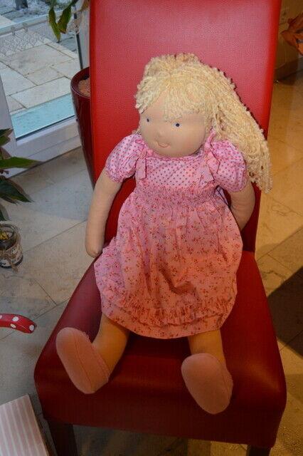 Käthe kruse  Waldorf  Mädchen  It`s me blond  85  cm  neu