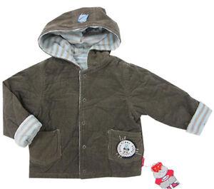 große Vielfalt Stile elegante Form zur Freigabe auswählen Details zu Pampolina Jacke Jungen Kapuze Wattiert Wendejacke Winterjacke  Oliv Baby Gr. 62