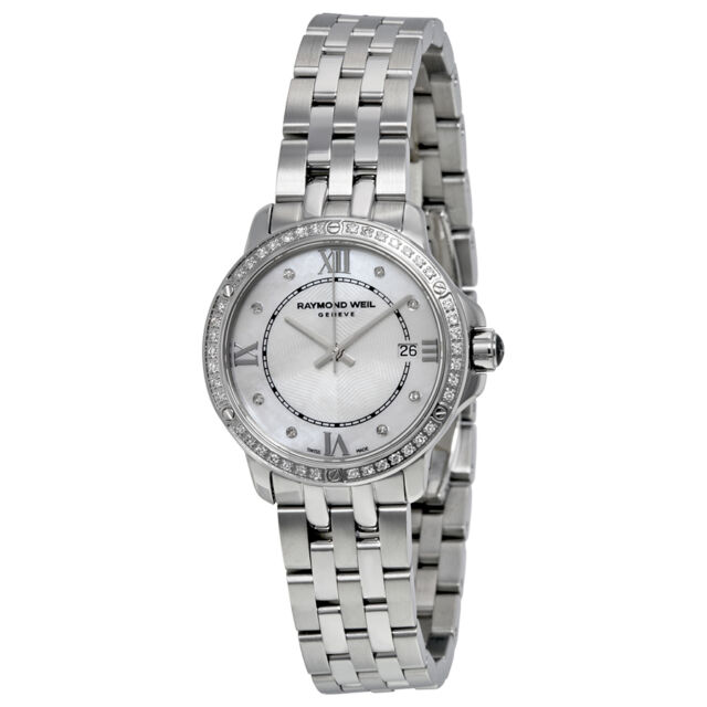 Raymond Weil Tango Diamante Reloj Mujer 5391-STS-00995 Nuevo