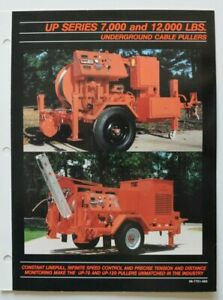 TIMBERLAND-UP-Series-Underground-Cable-Pullers-dealer-brochure-English-USA
