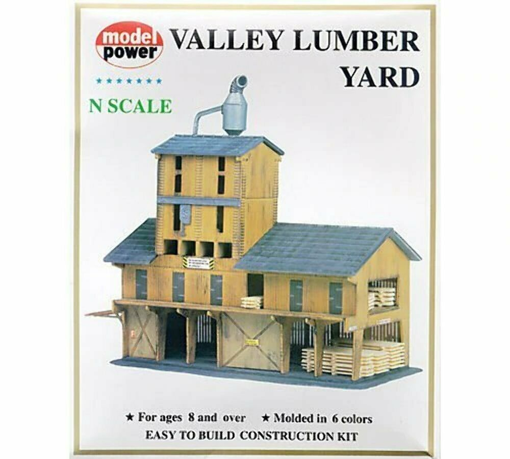 Model Power 1565 N Scale Lumber Yard Kit on n scale construction, scale model house plans, n scale furniture, n scale tools, 1/24 scale house plans, n scale wallpaper, n scale design, g scale house plans, n scale concrete, n scale garden, n scale landscape, n scale blueprints, n scale architect, post-war house plans, vintage house plans, n scale building materials, n scale signs, paper model house plans, n scale lighting, n scale magazines,