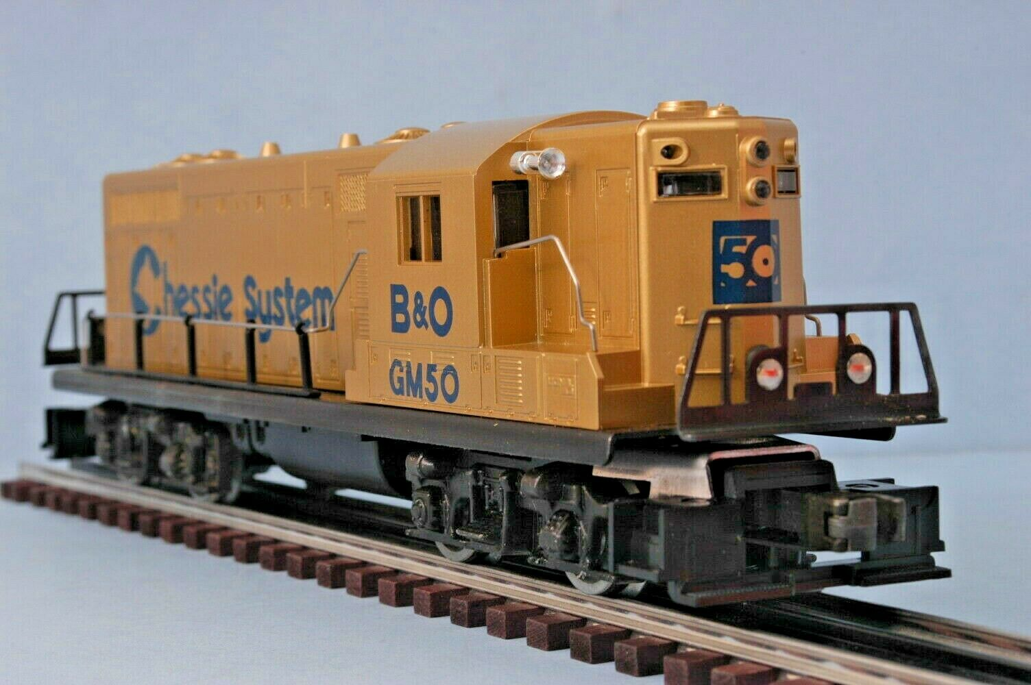 Vintage Lionel 8359 B&O Chessie System GP-7 Diesel OB GM 50th Anniversary New 1