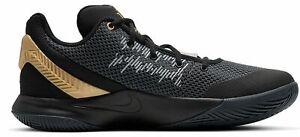 NIKE-Da-Uomo-Scarpe-Sportive-Scarpe-da-Pallacanestro-Nike-Kyrie-FLYTRAP-II-NERO-ORO-GRIGIO