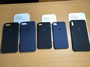 best loved d5ed8 61634 Details about Genuine Apple Silicone Case for Apple iPhone 8 OR 8 PLUS PICK  YOUR COLOR