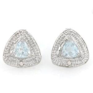Ohrringe-Ohrstecker-Sari-925er-Silber-0-72-Kt-echter-Aquamarin-Diamant