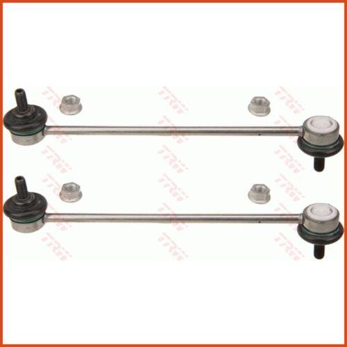 2 X TRW couplage tige pendulaire poteau Stabilisateur set avant double face 3837489