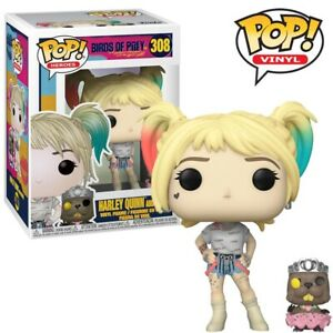 Harley Quinn With Beaver Birds Of Prey Dc Comics Funko Pop Vinyl Figure Ebay