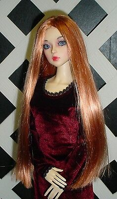 SIZE 7  PAIGE ASHE BLONDE ANTIQUE MODERN DOLL WIG  SYNTHETIC MOHAIR