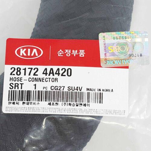 Genuine 281724A420 Intercooler Connector Hose For KIA SORENTO 2005-2009