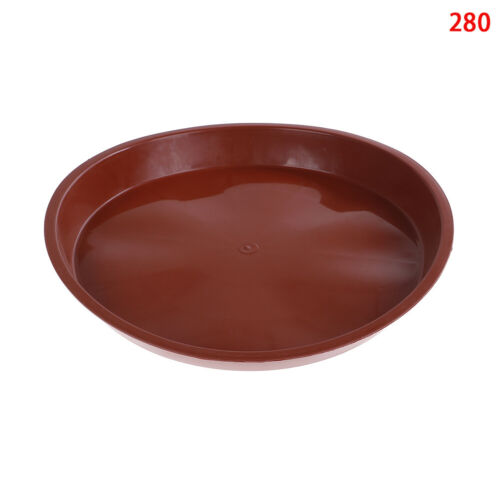 garden pp resin round plant saucer pad flower pot base water saving tray·d