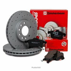 Zimmermann SPORT Bremsscheiben Ø 325mm + Beläge für JAGUAR F-PACE XE XF hinten