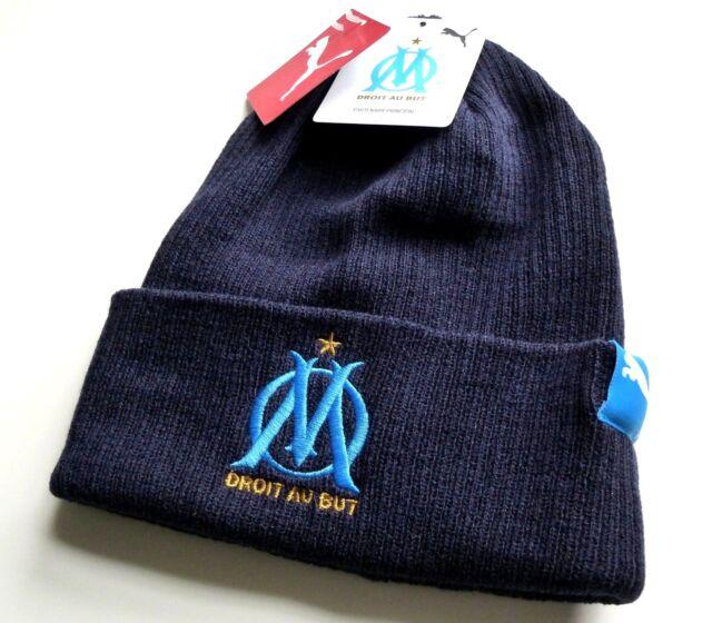 751380ab4da Puma 2019 Olympique Marseille Soccer Football Deep Cuff Navy Beanie Hat  Tags for sale online