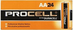NEW-DURACELL-PROCELL-AA-1-5V-ALKALINE-BATTERIES-72-pack-3x24-EXP-in-2025