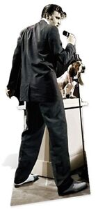 Elvis Presley The King Hound Dog Cardboard Fun Cutout-186cm Tall-At on