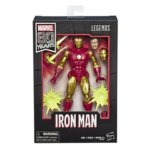 Iron Man Action Figure *IN STOCK Alex Ross Marvel Legends 80th Anniversary