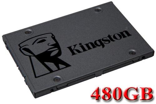 "Kingston A400 480GB 480G SSD Solid State Drive 2.5/"" SATA III 3 6Gb//s 500MB//s"