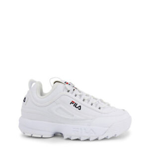 Details about Women's Shoes FILA SNEAKERS FILA DISRUPTOR low_1fg Wmn 1010302.1fg Fila White show original title