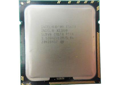 LOT 2 X CPU Intel Xeon SLBVB e5630 Quad Core 2.53ghz  12M 5.86GT//s