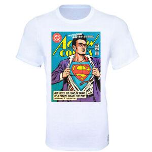 da55d316 Man Of Steel Morrissey The Smiths SuperMan T-Shirt - Kids & Adult ...