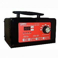 12//24V Durite 9 Step Fully Automatic Bench Start//Charger Maintainer