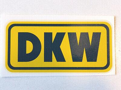 Rational Dkw Schriftzug Wasserabziehbild Abziehbild 00040d 87x42 Mm Gelb/dunkelblau Halten Sie Die Ganze Zeit Fit