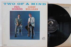 PAUL-DESMOND-amp-GERRY-MULLIGAN-Two-Of-A-Mind-LP-RCA-Victor-LPM-2624-orig-1962