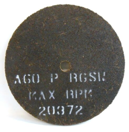 20372 RPM LOT OF 25 CUT-OFF WHEELS A60-P-RGSW 3-1//8 X 1//8 X 1//4