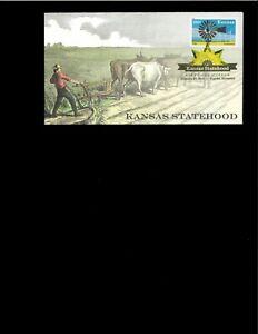 2011-FDC-Kansas-Statehood-Topeka-ks