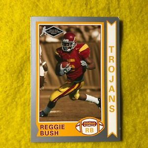 REGGIE-BUSH-2006-PRESS-PASS-OLD-SCHOOL-ROOKIE-CARD-OS25-NEAR-MINT-1-PACK-1991PS