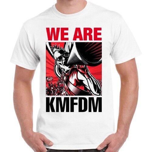 Kmfdm We Are Kmfdm Industrial Front 242 Die Krupps Mdfmk Ebm Retro T Shirt 58