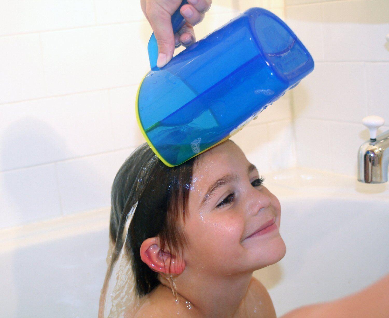 keine Tränen mehr beim Haarewaschen NEU Reer Verstellbarer Shampoo-Schutz