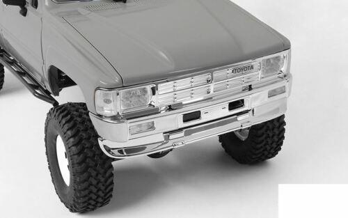 RC4WD 1985 Toyota 4Runner Chrome Bumper Z-B0186 Front Rear 4 Runner chin