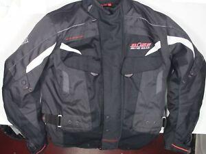 f195c9f950 Das Bild wird geladen Motorradjacke-von-Buese-Catania-Herren-XS-Gr-46-