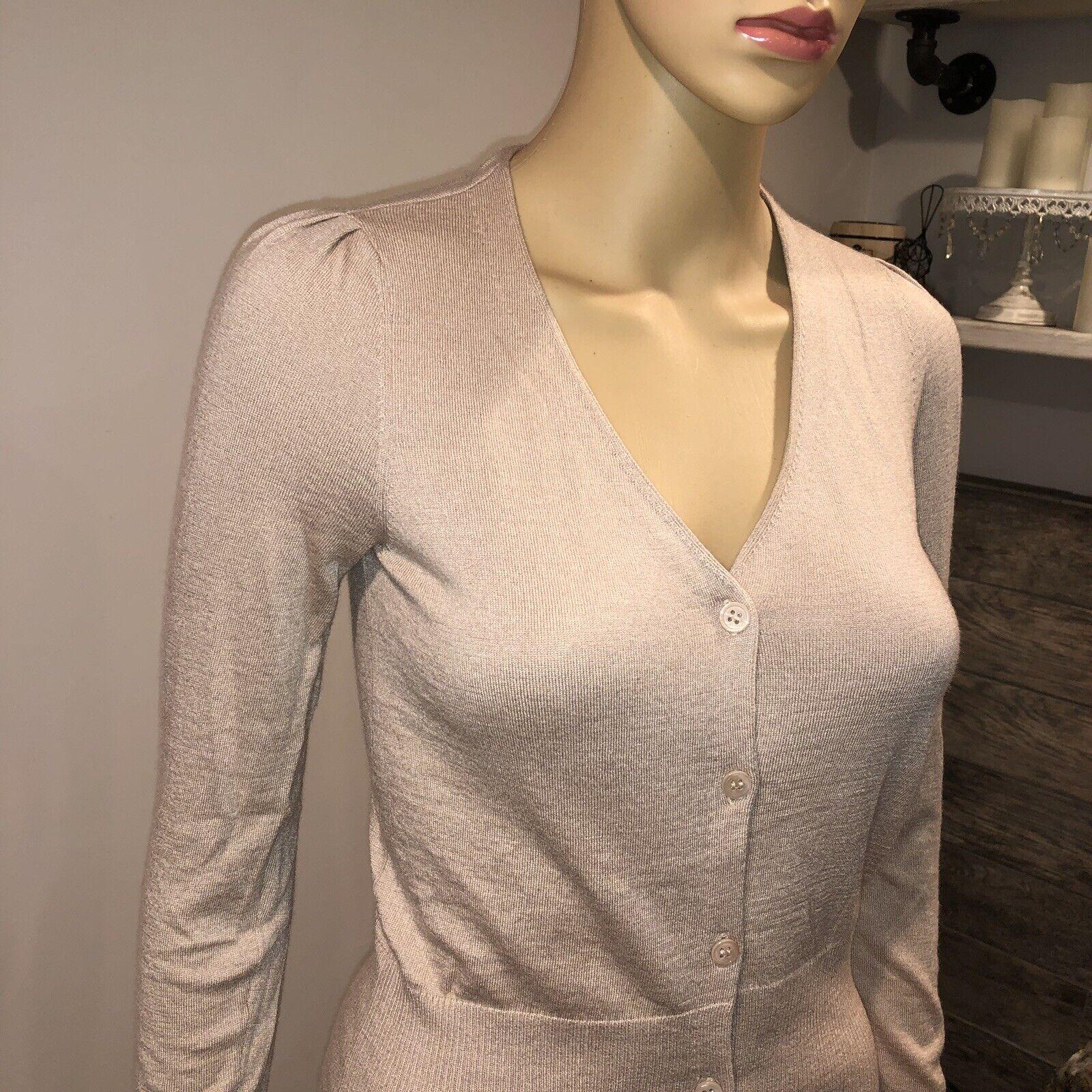 Joie bluesh pink Cardigan soft soft soft sweater size xsmall 653303