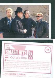 U2-7x10-cm-Sticker-Brand-New-n-64-Notes-on-the-Back-1986