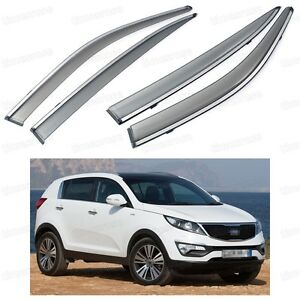 Image is loading 4Pcs-Front-amp-Rear-Window-Visor-Deflectors-Vent- 6565a0c2d03