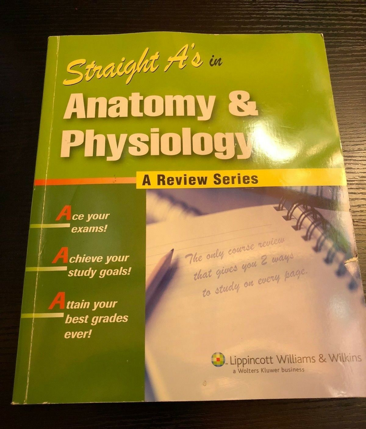 Straight A\'s: Anatomy and Physiology (2006, Paperback)   eBay
