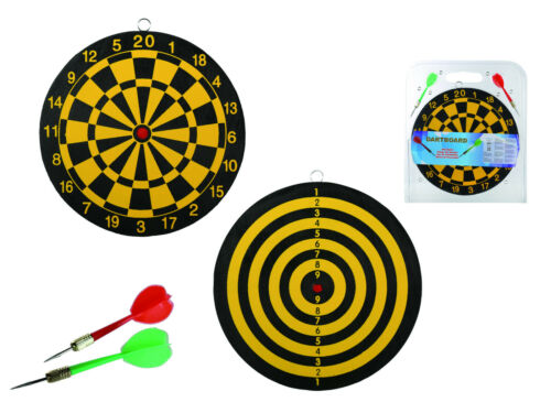 Dart Board Game 2 Darts Gift Boxed Table Desk Office Game