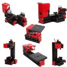 DIY metal 6 in 1 Mini Multipurpose Machine Metal Version jigsaw lathe tour Wood