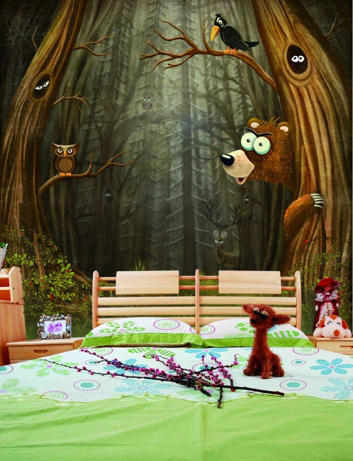 3D Animals Adorn 41 Wallpaper Murals Wall Print Wallpaper Mural AJ WALL AU Lemon