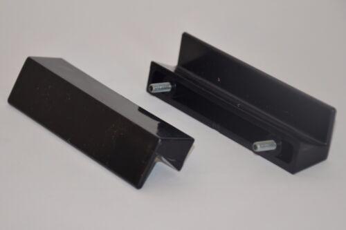 Leistengriffe von KNÜRR Handgriffe 2x Kunststoff Griffe Anschraubgriffe