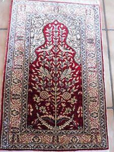 Noble, Vieux Tapis Oriental __ Tapis En Soie __ Tapis à Motif __turquie __