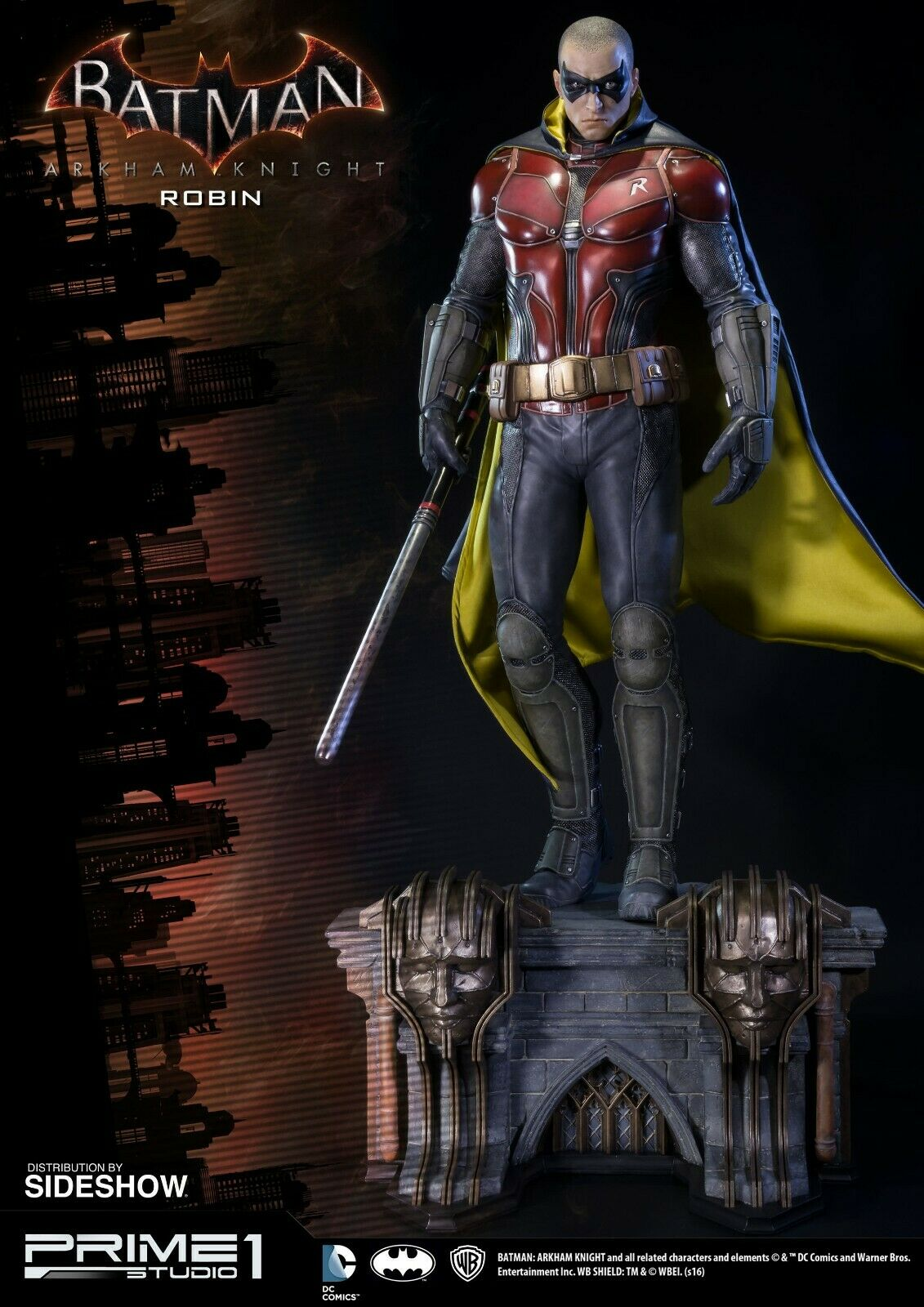 Prime 1 Studios Arkham Knight Robin EX edition statue Not Sideshow or XM