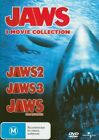 Jaws 2 3 4 The Revenge R4 DVD