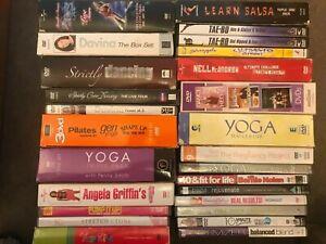 Exercise Workout & Dance DVD & Boxsets (Read Description) Choose From List