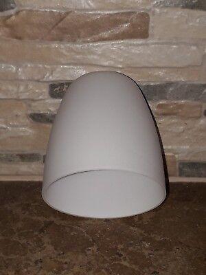 Set 4 Paralume coppa lampadario stupendi e moderni di ricambio vetro bianco E14 | eBay