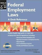 Federal Employment Laws : A Desk Reference by Lisa Guerin and Amy DelPo 2002