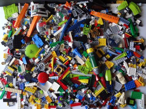 -1 3//4 Pounds Mixed LOT Lego City Star Wars Ninjago Jurassic Batman LEGOS BULK