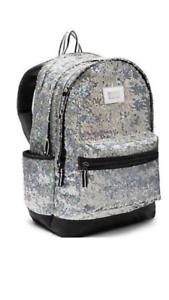 victoria secret pink sparkle backpack